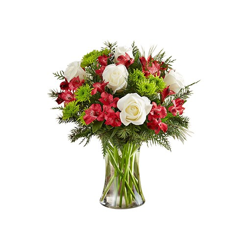 red-roses-white-alstroemeria-green-poms-beautiful-christmas-bliss-flower-arrangement