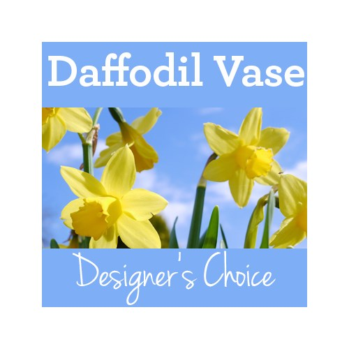 Bright-Yellow-Daffodil-Days-Vase