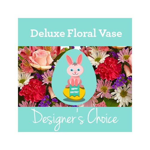 Designer-Choice-tile-for-Easter-Bunny-Deluxe-Floral-Vase