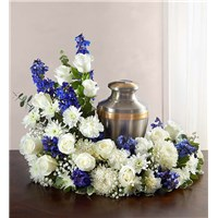 cremation-wreath-urn-flowers