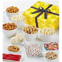 The Popcorn Factory Smiley Face Sampler Gift Box
