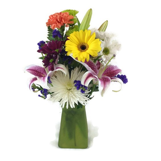 deluxe-fresh-flower-in-a-vase