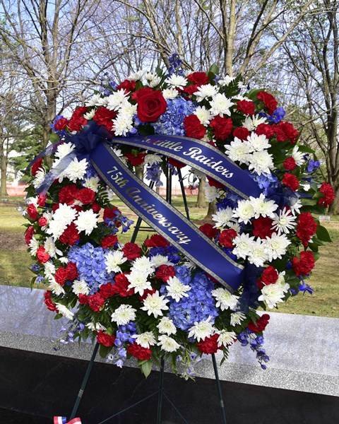 Terry's Floral Treasures - Funerals |Military Funeral Flag Flowers