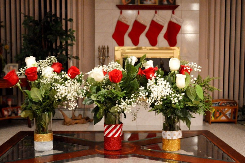 Make Your Holidays Sparkle Withdiy Glitter Vases Blogs 1 800